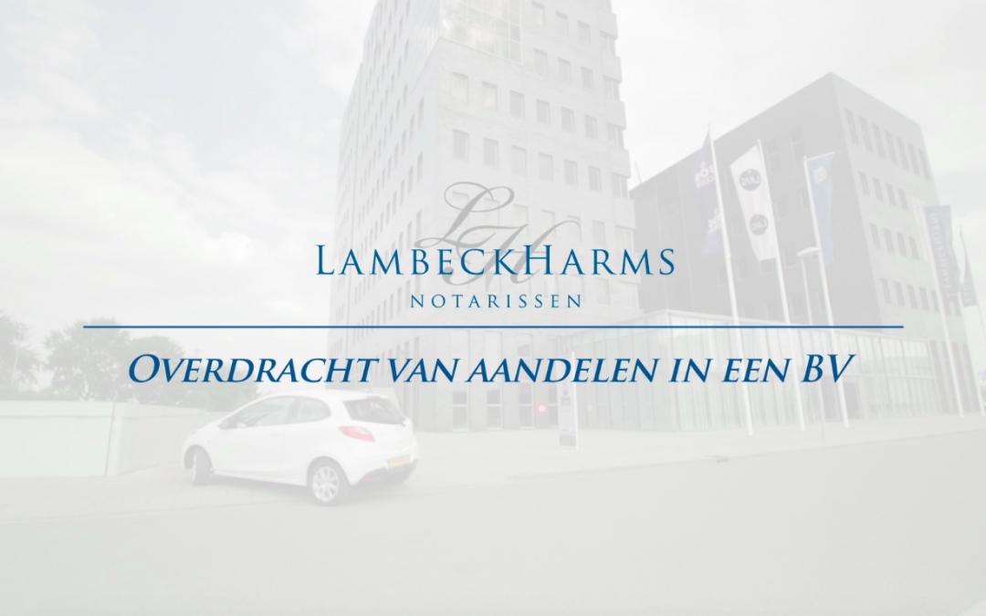 Film: Overdracht aandelen in een BV