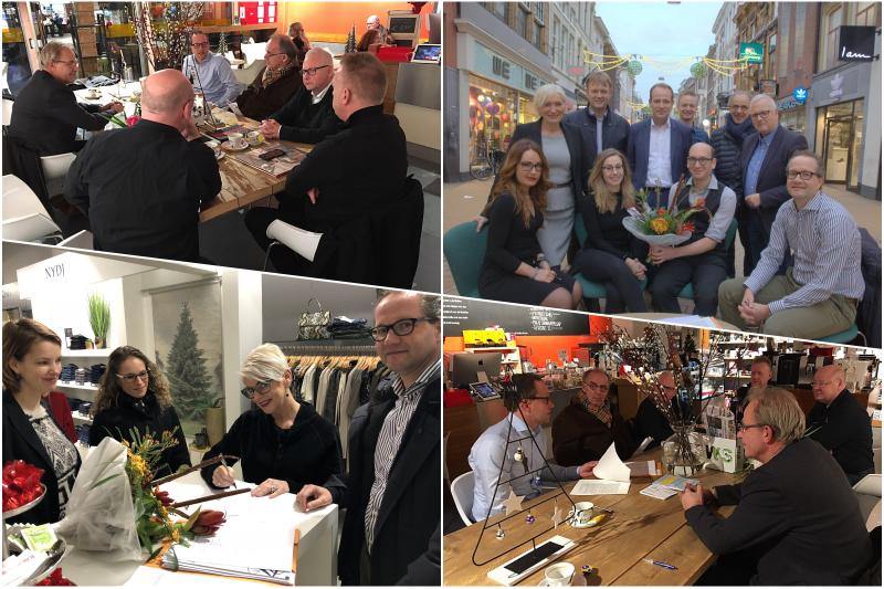 Groningen is drie ondernemersverenigingen rijker!