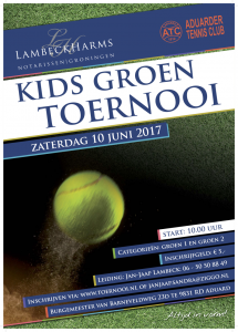 Lambeck Harms Kids Groen toernooi ATC